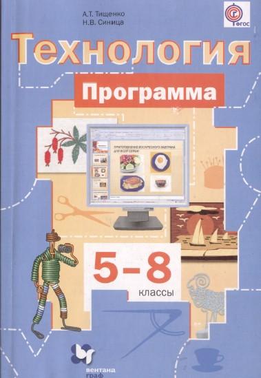Программа по технологии 5 - 8 классы