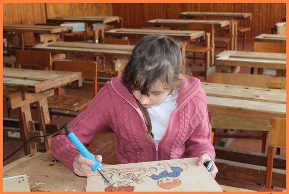 Кружок «Художественная обработка древесины»