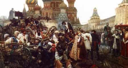 Портреты и памятники В. Суриков, Ф. Шубин, М. Козловский