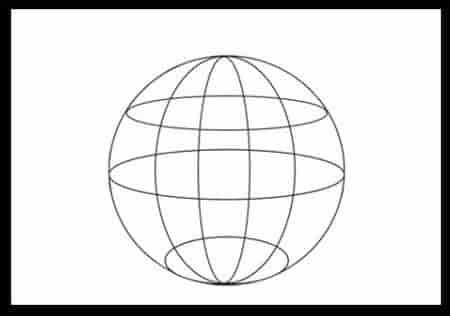 Приемы изображения шара