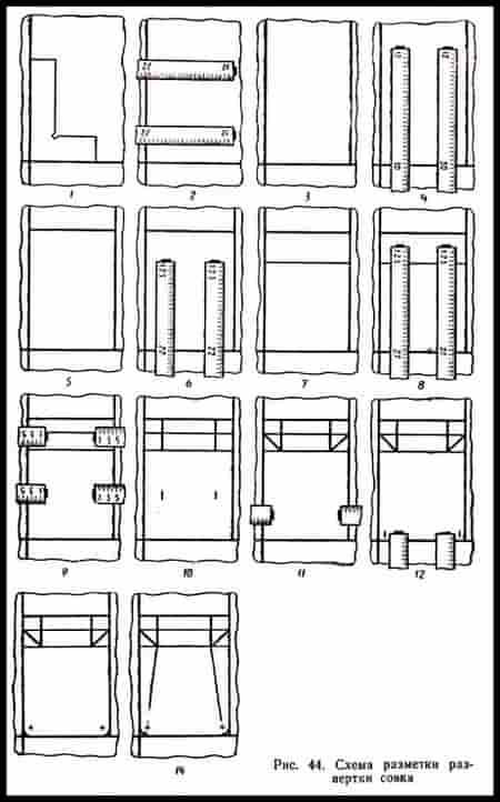 Конструирование и изготовление изделия из тонколистового металла и проволоки