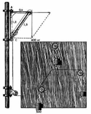 Строительный подъёмный кран
