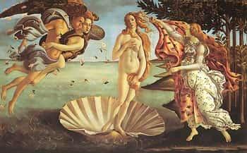Ботичелли. Рождение Венеры