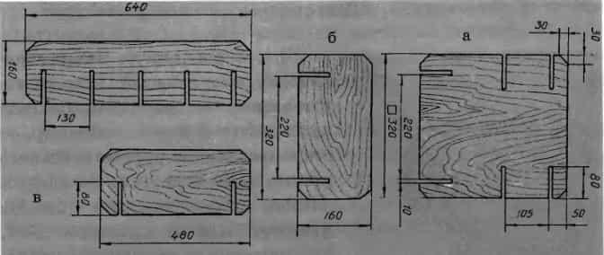 Игрушечная мебель из фанеры чертежи