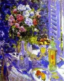 К. Коровин. Цветы и фрукты