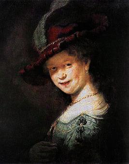 Рембрант. Портрет Саскии