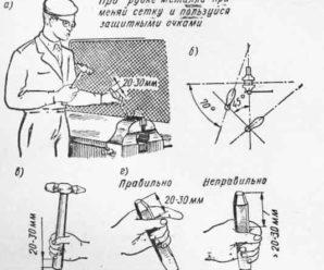 Техника безопасности при рубке металла