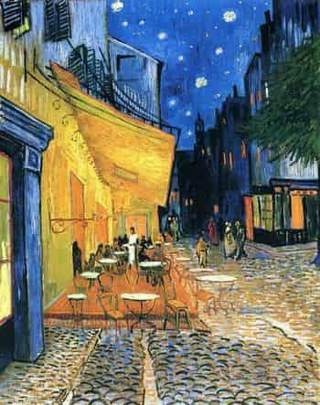 В. Ван Гог. Кафе ночью