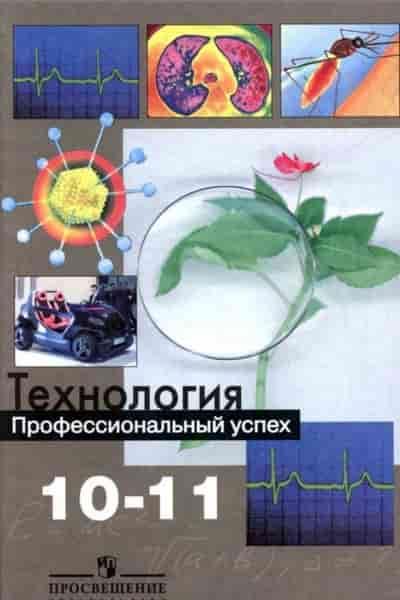 Технология. Профессиональный успех. Учебник. 10-11 классы
